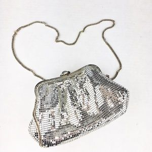 WHITING & DAVIS Designer Sequin Cocktail Purse